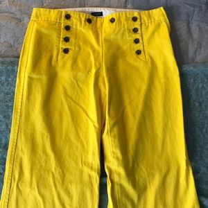 """J.Crew"" wide leg pants"